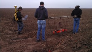Soil Mapping by Fresno State Student